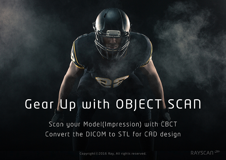 Gear up with object scan