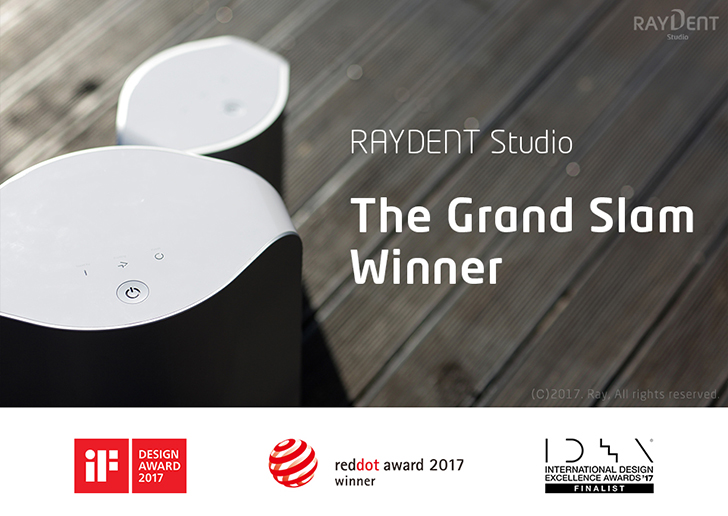 RAYDENT Studio Achieved Grand Slam of Design Awards
